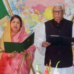 Sultan Monsur takes oath as MP