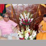 Indian envoy calls on President