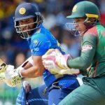 Mathews 87 helps Sri Lanka to post 294-8