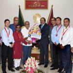 Humayun Rasheed Smrity Parishad members call on President
