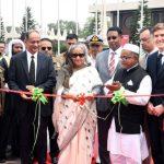 PM opens Biman's third Dreamliner 'Gaangchil'