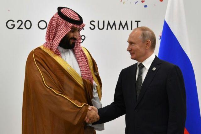 Oil, Iran top agenda as Putin visits Saudi Arabia